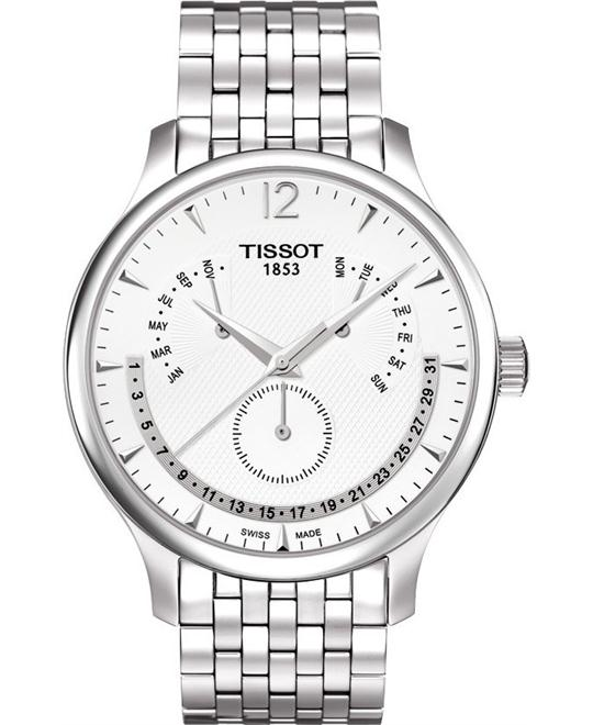TISSOT T-Classic Tradition Perpetual Calendar Watch 42mm