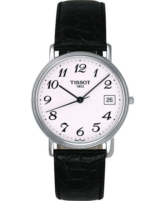 TISSOT T-Classic White Leather Watch 34mm