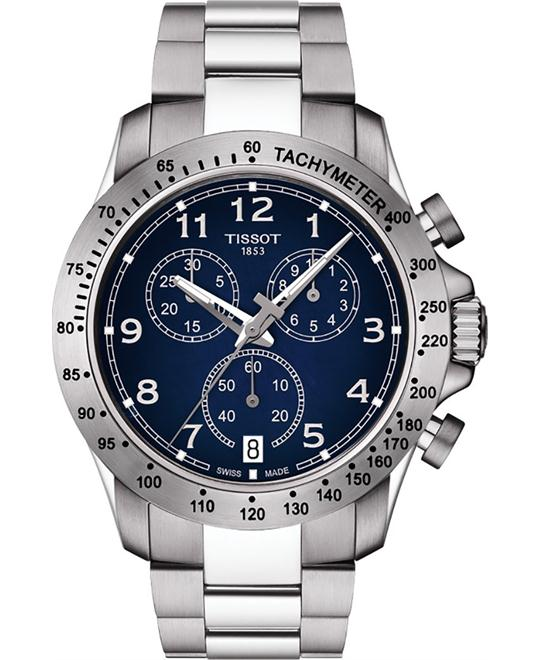 TISSOT T-Sport V8 Blue Dial Chronorgaph Watch 42.5mm
