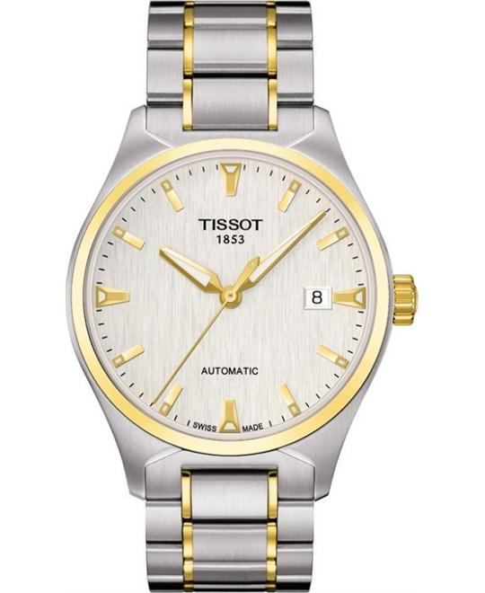 Tissot T-Tempo Silver Dial Two Men's Watch 39mm