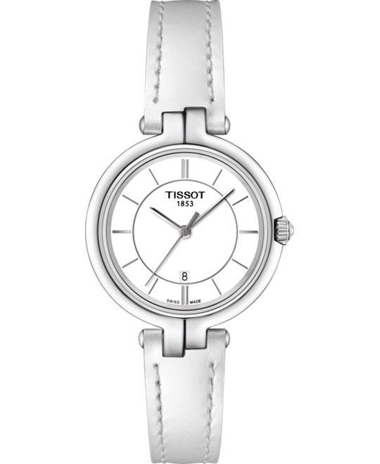 TISSOT T094.210.16.011.00 Flamingo White Watch 26mm