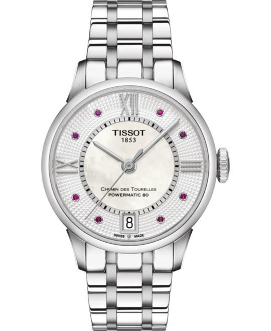 đồng hồ Tissot T099.207.11.113.00 Chemin des Tourelles Watch 32mm