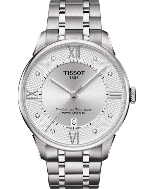 đồng hồ Tissot T099.407.11.033.00 Chemin Des Tourelles Men's Watch 42mm