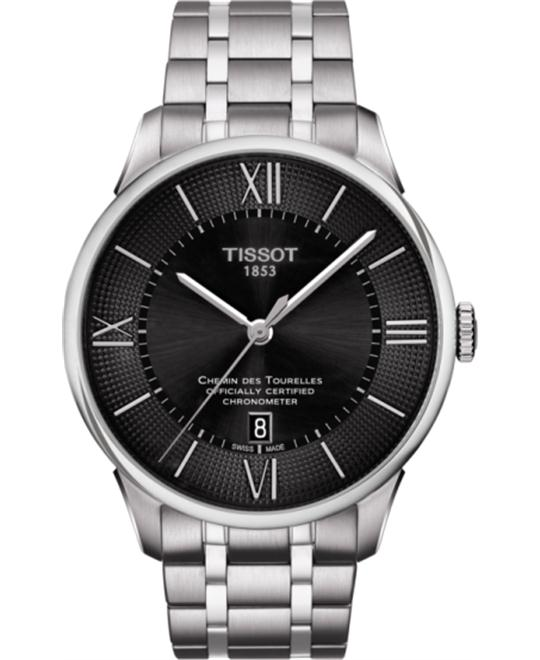 đồng hồ TISSOT T099.408.11.058.00 Chemin Des Tourelles Watch 42mm