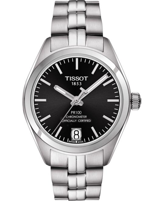 TISSOT T101.208.11.051.00 PR 100 Auto Watch 33mm