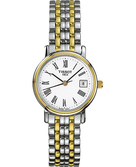 Tissot T52.2.281.13 T-Classic Desire Two-Tone Watch 24mm