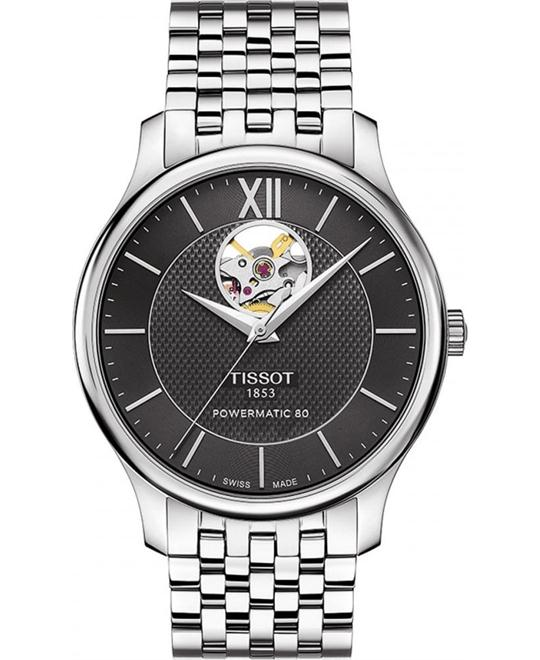 TISSOT Tradition Automatic Black Watch 40mm