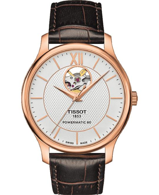 TISSOT TRADITION AUTOMATIC OPEN HEART watch 40mm