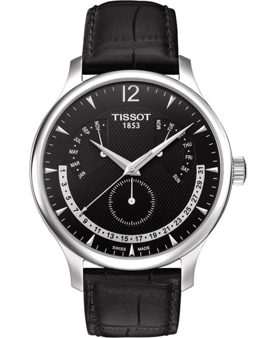 TISSOT Tradition Black Men's Watch 42mm