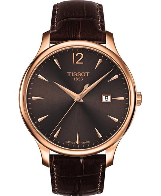 TISSOT Tradition Brown Men's Watch 42mm