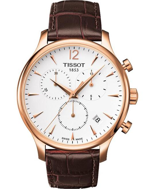 TISSOT TRADITION CHRONOGRAPH WATCH 42MM