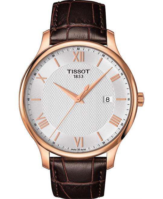 TISSOT Tradition Gents Quartz Silver Dial Men's Watch 42mm