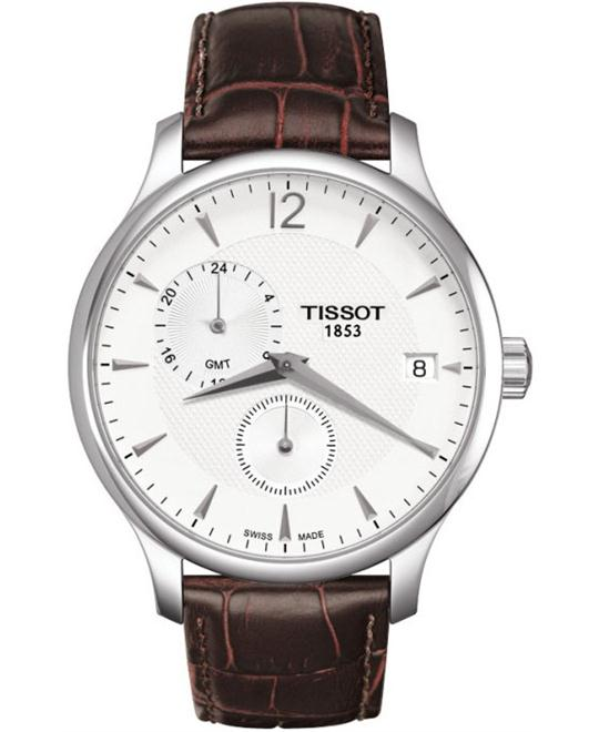 đồng hồ Tissot T063.639.16.037.00 Tradition GMT Watch 42mm