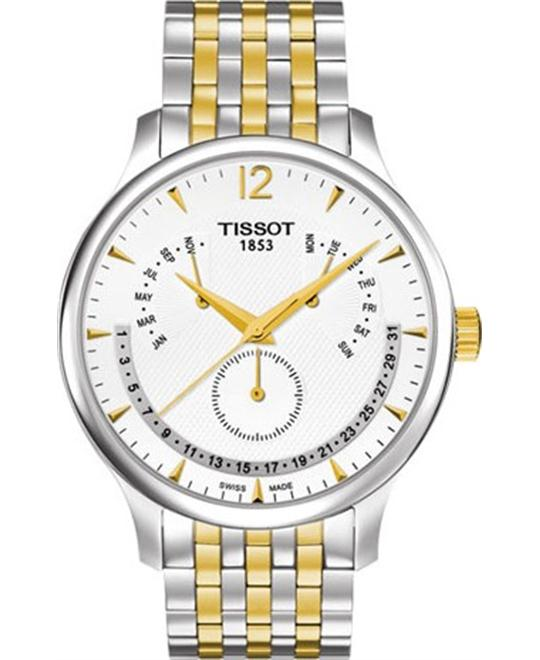 TISSOT Tradition Perpetual Calendar Men's Watch 42mm
