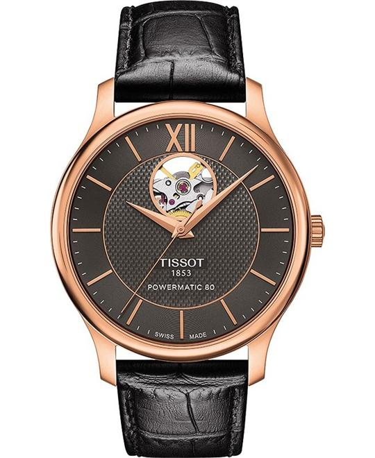 Tissot Tradition Powermatic Open Heart watch 40mm