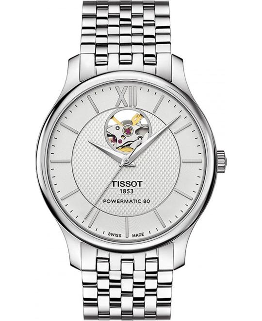 TISSOT Tradition Silver Dial Automatic Watch 40mm