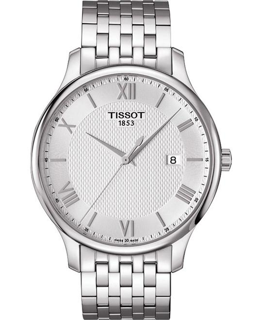 TISSOT Tradition Silver Dial Men's Watch 42mm