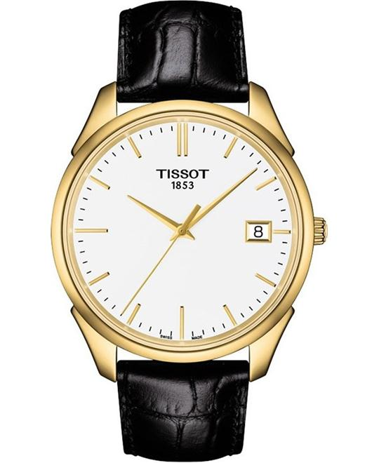 TISSOT VINTAGE 18K YELLOW GOLD MEN'S 40MM