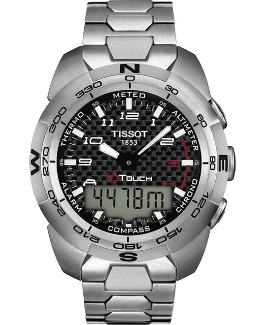 TISSOT T-Touch Expert Titanium Men's Watch 44mm
