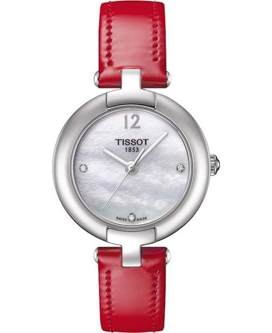 Tissot T084.210.16.116.00 White MOP Dial Watch 28mm