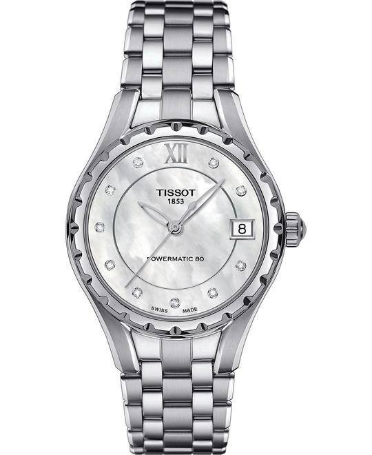 Tissot Women's Swiss Automatic Diamond Watch 35mm