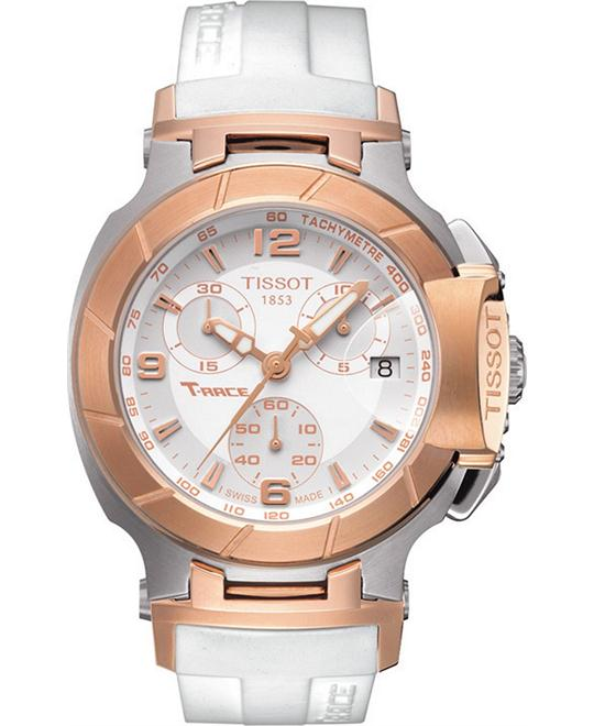 Tissot Women's Swiss Chronograph Rubber Watch 36mm