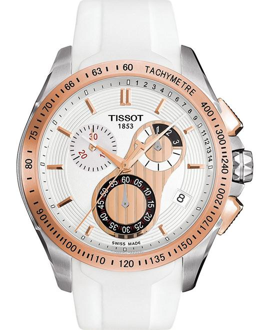 Tissot Women's Swiss Chronograph Rubber 42mm