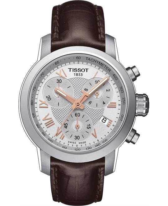 Tissot T055.217.16.033.02 Swiss Leather Watch 35mm
