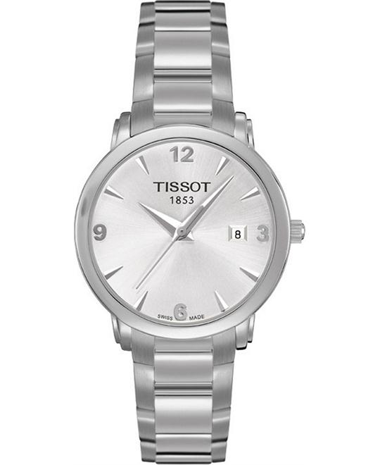 đồng hồ Tissot Everytime T0572101103700 Women's Swiss Stainless Watch 28mm