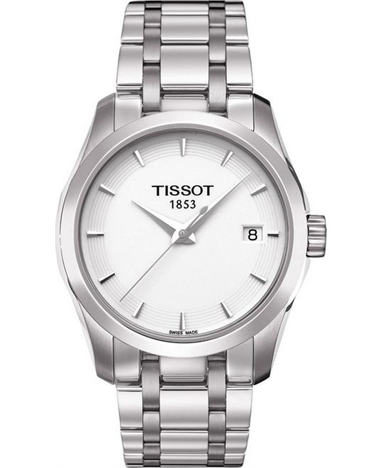 TISSOT T-Trend Couturier White Ladies Watch 32mm
