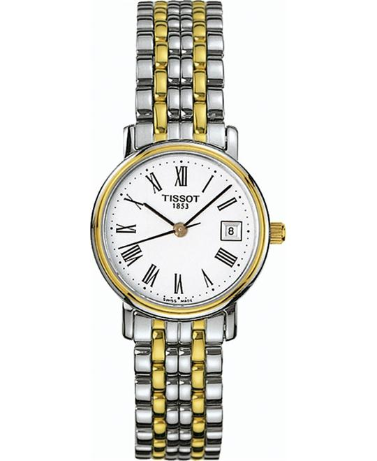 Tissot Women's T-Classic Desire Two-Tone Watch 24mm
