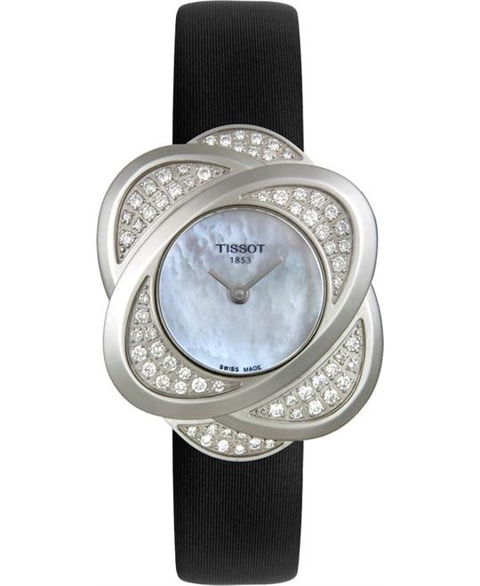 Tissot Women's T-Trend Flower Diamond Watch 23mm