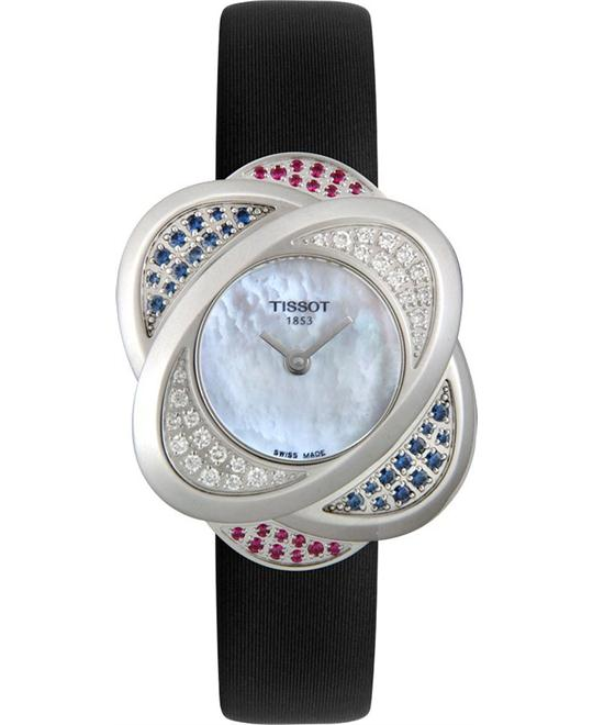 Tissot Women's T-Trend Flower Diamond Watch 34mm