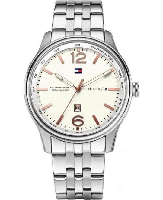 TOMMY HILFIGER Andre Silver Men's Watch 44mm