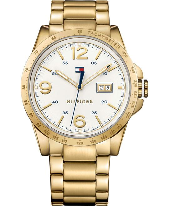 Tommy Hilfiger Men's Quartz Tone Casual Watch 44mm