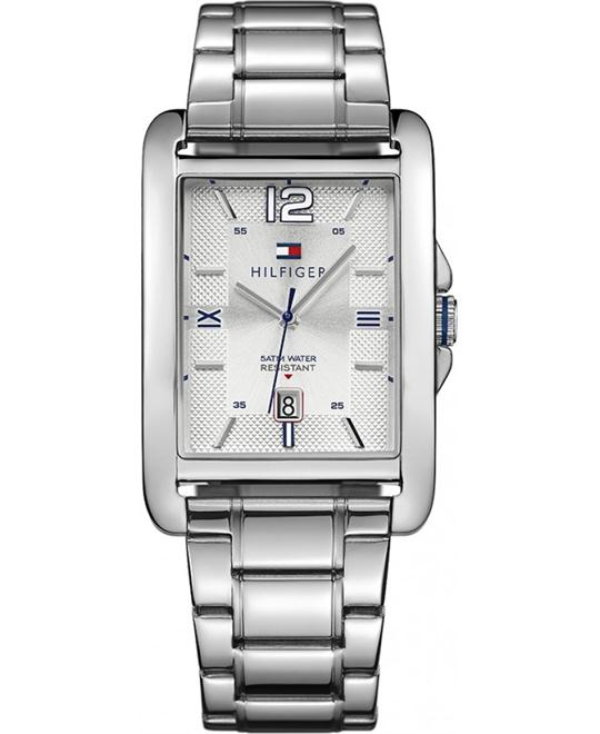 Tommy Hilfiger Men'sCasual Silver Watch 32mm