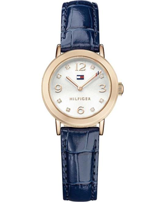 Tommy Hilfiger Quartz Gold and Leather Women's Watch 28mm
