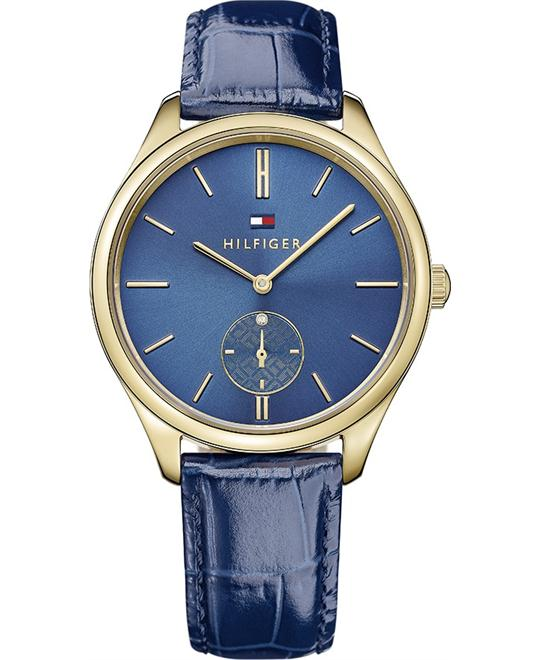 Tommy Hilfiger Women's Analog  Blue Watch 38mm