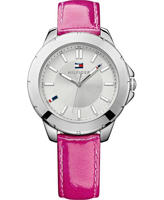 Tommy Hilfiger Women's Patent Leather 38mm