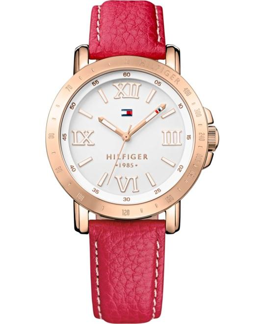 Tommy Hilfiger Women's Raspberry Watch 38mm