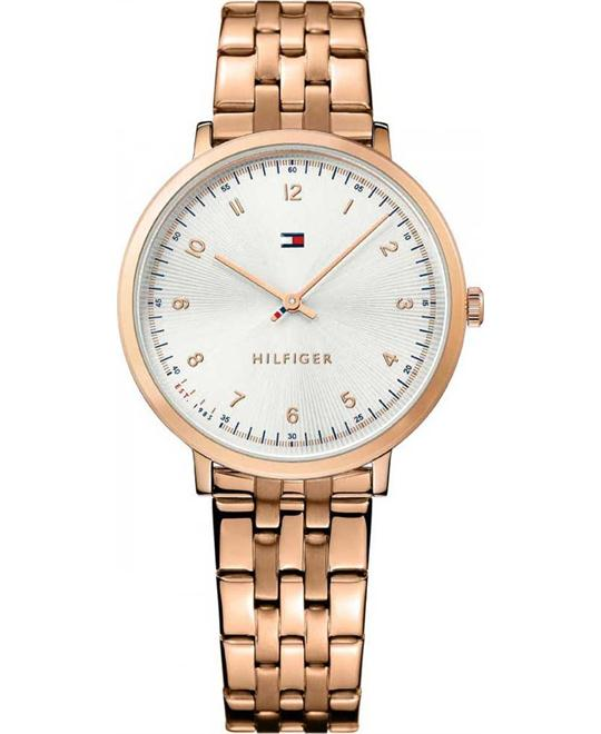 Tommy Hilfiger Women's Rose Gold-Tone Watch 35mm