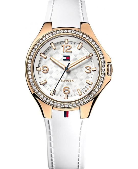 "Tommy Hilfiger Women's ""Sport Luxury"" Swarovski Rose Watch 38mm"