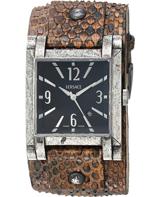 Versace Character Swiss Brown Watch 32mm