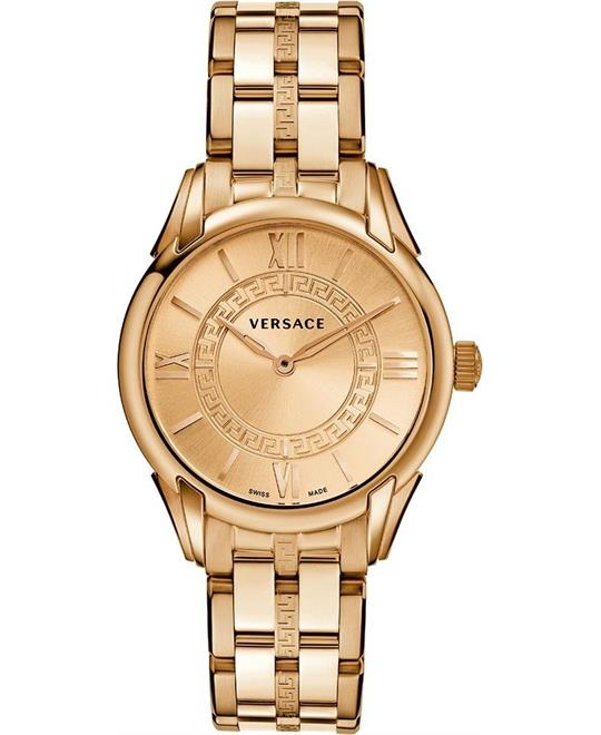 "Versace ""Dafne"" Rose Gold Dress Women's Watch 33mm"