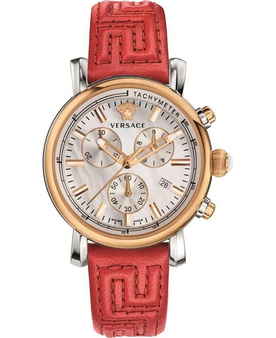 Versace Day Glam Chronograph Watch 38mm