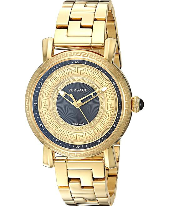 Versace Day Glam Gold IP Watch 37MM