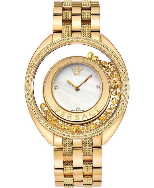 Versace Destiny Precious Gold-Tone Watch 39mm