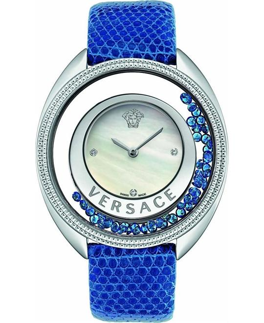 Versace Destiny Precious Swiss Blue Watch 40mm