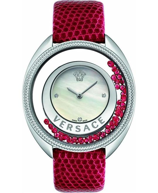 Versace Destiny Precious Swiss Red Watch 39mm