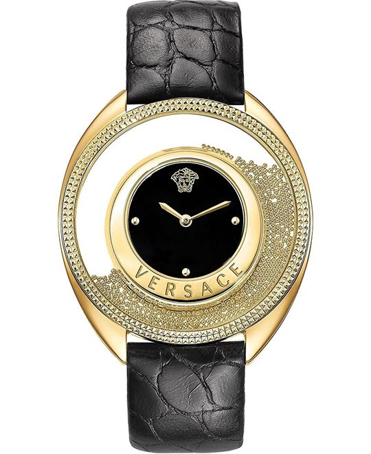 Versace DESTINY SPIRIT SMALL Gold IP Watch 36mm